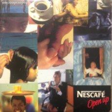 CDs de Música: NESCAFÉ - OPEN UP - CD SINGLE. Lote 212302526