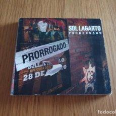 CDs de Música: CD SOL LAGARTO - PRORROGADO. Lote 212304741