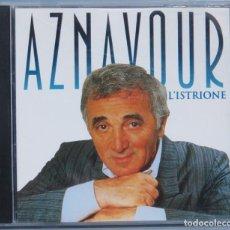 CDs de Música: CD. AZNAVOUR. L'ISTRIONE. Lote 212306518