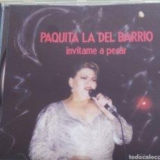 CDs de Música: PAQUITA LA DEL BARRIO / INVITAME A PECAR / CD ORIGINAL. Lote 212329450