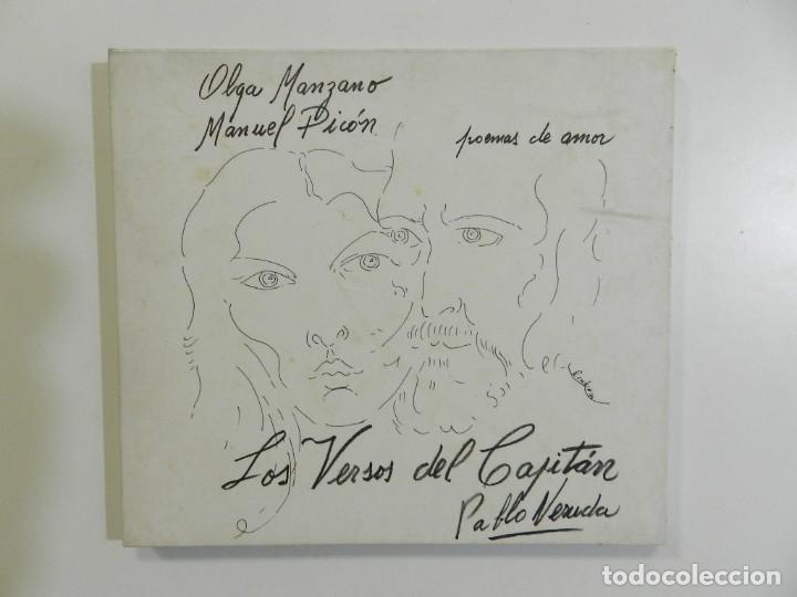 OLGA MANZANO & MANUEL PICÓN - LOS VERSOS DEL CAPITAN (Música - CD's Otros Estilos)