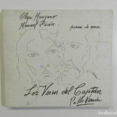 CDs de Música: OLGA MANZANO & MANUEL PICÓN - LOS VERSOS DEL CAPITAN. Lote 212369810
