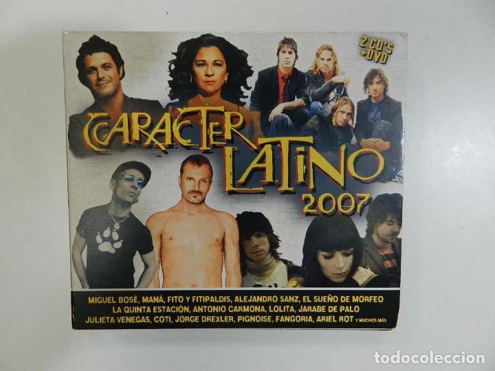 VARIOS - CARÁCTER LATINO (DOBLE CD + DVD) (Música - CD's Latina)