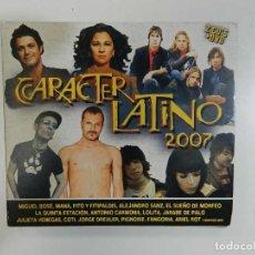 CDs de Música: VARIOS - CARÁCTER LATINO (DOBLE CD + DVD). Lote 212371281