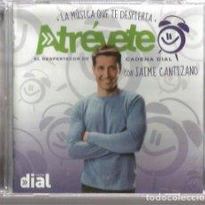 CDs de Música: DOBLE CD ATREVETE CADENA DIAL ( PABLO ALBORAN, ALEJANDRO SANZ, MALU, BEBE, FANGORIA, AMARAL, ETC. Lote 212407371