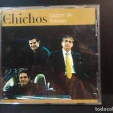 CDs de Música: LOS CHICHOS - LADRON DE AMORES - CD 10 TEMAS UNIVERSAL 2001 PEPETO. Lote 212412806
