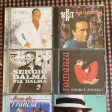 CDs de Música: LOTE 6 CDS CANCIÓN MELÓDICA. Lote 212484068