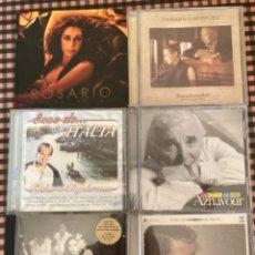 CDs de Música: LOTE 6 CD CANCIÓN MELÓDICA. Lote 212486983