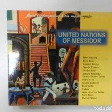 CDs de Música: VARIOS - UNITED NATIONS OF MESSIDOR (CD DOBLE). Lote 212488365
