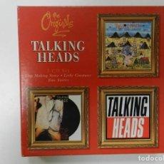 CDs de Música: TALKING HEADS - THE ORIGINALS 3CD SET (CD TRIPLE). Lote 212501198