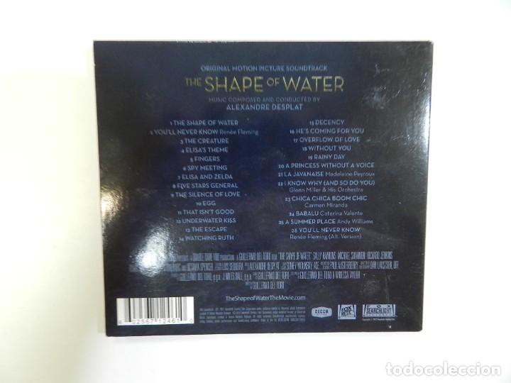 CDs de Música: ALEXANDRE DESPLAT - THE SHAPE OF WATER (SOUNDTRACK. BANDA SONORA) - Foto 3 - 212511551