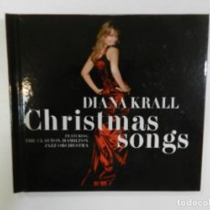 CDs de Música: DIANA KRALL - CHRISTMAS SONGS. FT. THE CLAYTON-HAMILTON JAZZ ORCHESTRA. Lote 212513155