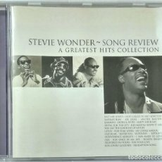 CDs de Música: STEVIE WONDER ?– SONG REVIEW (A GREATEST HITS COLLECTION). Lote 212527113