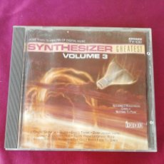 CDs de Música: SYNTHESIZER GREATEST VOLUME 3. Lote 212529791