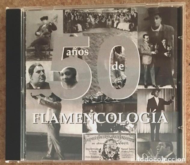50 AÑOS DE FLAMENCOCOLOGÍA (Música - CD's Flamenco, Canción española y Cuplé)