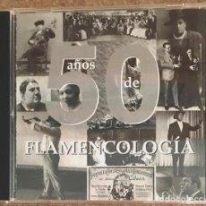 CDs de Música: 50 AÑOS DE FLAMENCOCOLOGÍA. Lote 212550650
