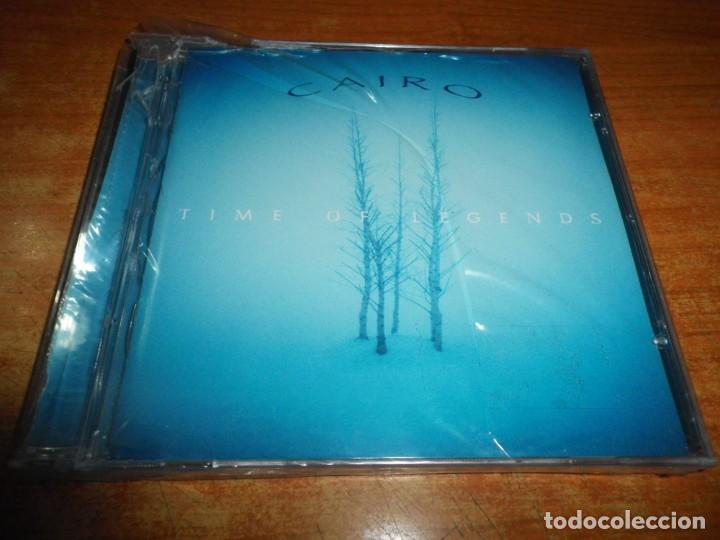 CAIRO TIME OF LEGENDS CD ALBUM PRECINTADO AÑO 2001 CONTIENE 7 TEMAS ROCK PROGRESIVO SINFONICO RARO (Música - CD's Rock)