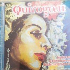 CDs de Música: QUIROGA II / CD ORIGINAL / VERSIONES ORQUESTALES DE LA COPLA. Lote 212600642