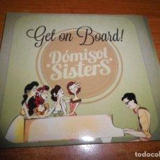 CDs de Música: DOMISOL SISTERS GET ON BOARD CD ALBUM DIGIPACK 2014 ELENA & PAULA ALMENDROS CARLA SANZ JAZZ SWING. Lote 212644967