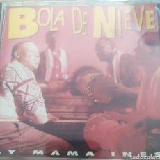 CDs de Música: BOLA DE NIEVE / AY MAMA INÉS / CD ORIGINAL. Lote 212681432