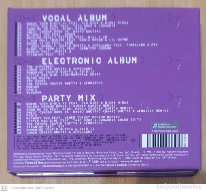CDs de Música: DAVID GUETTA (NOTHING BUT THE BEAT) 3 CDs 2011 - Foto 2 - 212714027