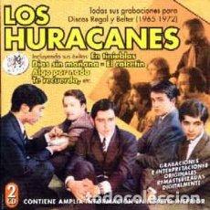 CDs de Música: LOS HURACANES TODAS SUS GRABACIONES PARA REGAL Y BELTER (1965-1972) 2CDS NUEVOS. Lote 212722421