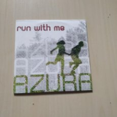 CDs de Música: AZURA - RUN WITH ME. CD SINGLE. Lote 212740706