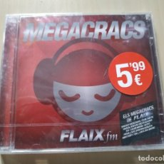 CDs de Música: MEGACRACS. FLAIX FM. 2CDS. RECOPILATORIO NUEVO. Lote 212740868