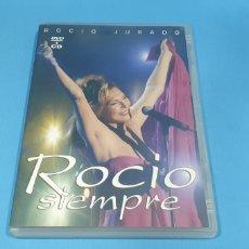 CDs de Música: DVD+CD ROCIO JURADO - SIEMPRE. Lote 212758900