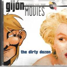 CDs de Música: GIJÓN GOES TO THE MOVIES. Lote 212767562