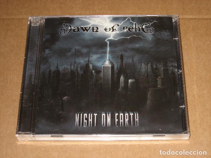 (SIN ABRIR) DAWN OF RELIC – NIGHT ON EARTH ________ MELODIC BLACK / DEATH METAL (Música - CD's Heavy Metal)