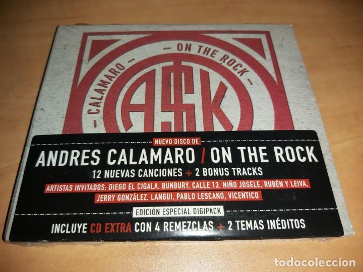 ANDRES CALAMARO CD ON THE ROCK + BONUS TRACKS- BUNBURY * NUEVO *(COMPRA MINIMA 15 EUR) (Música - CD's Rock)