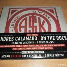 CDs de Música: ANDRES CALAMARO CD ON THE ROCK + BONUS TRACKS- BUNBURY * NUEVO *(COMPRA MINIMA 15 EUR). Lote 212813326