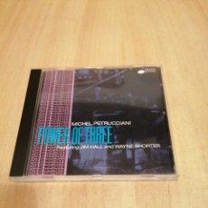 CDs de Música: MICHEL PETRUCCIANI. POWER OF THREE. JIM HALL. WAYNE SHORTER. LIVE AT MONTREUX.. Lote 212821750