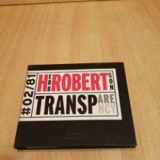 CDs de Música: HERB ROBERTSON. TRANSPARENCY. #02/81. Lote 212829061