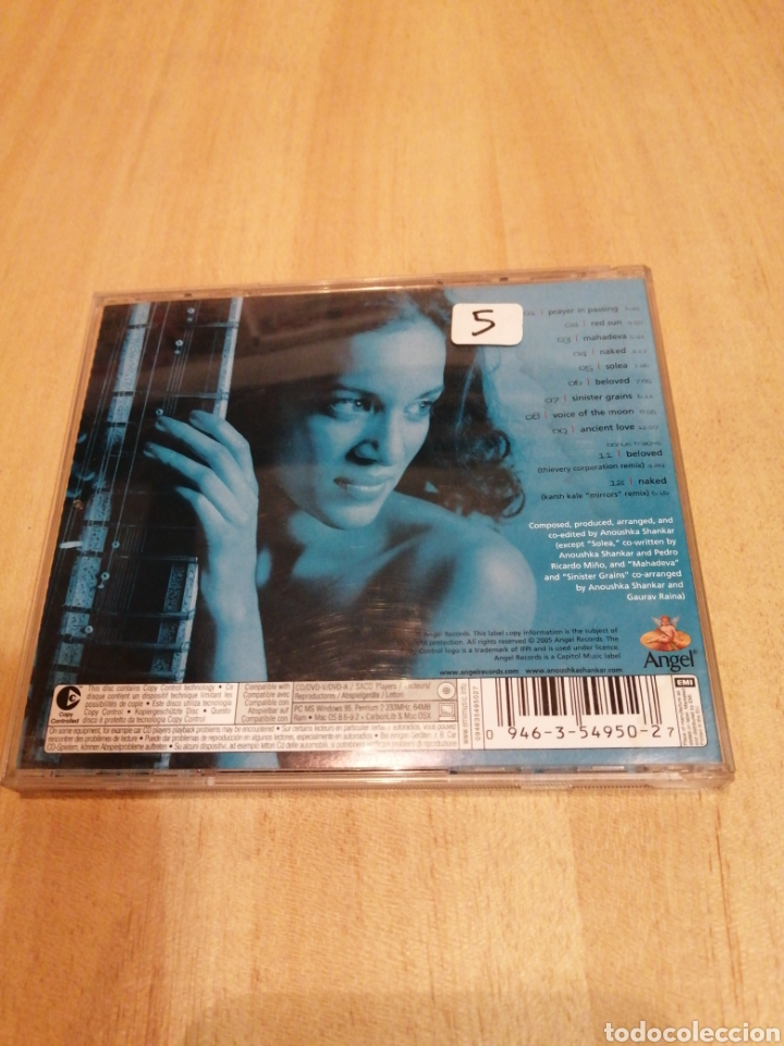 CDs de Música: Anoushka Shankar. Rise. - Foto 3 - 212845331