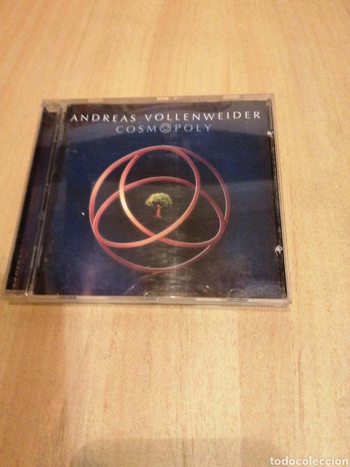 ANDREAS VOLLENWEIDER. COSMOPOLY. KEPA JUNKERA, CARLOS NÚÑEZ, CARLY SIMON, MILTON NASCIMENTO, ETC.. (Música - CD's World Music)
