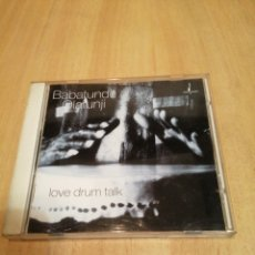 CDs de Música: BABATUNDE OLATUNJI. LOVE DRUM TALK.. Lote 212846747