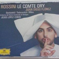 CDs de Música: ROSSINI: LE COMTE ORY. JESÚS LÓPEZ COBOS.. Lote 212886730