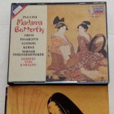 CDs de Música: PUCCINI: MADAMA BUTTERFLY. HERBERT VON KARAJAN. Lote 212888042