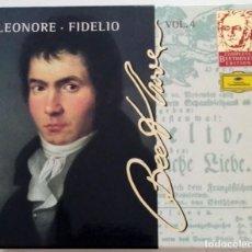 CDs de Música: EDICIÓN COMPLETA BEETHOVEN DEUTSCHE GRAMMOPHON VOL. 4 (LEONORE/FIDELIO).. Lote 212888351