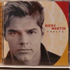 CDs de Música: CD/ RICKY MARTIN / VUELVE / (REF. G). Lote 212905992