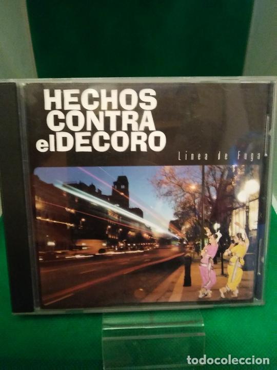 HECHOS CONTRA EL DECORO – LINEA DE FUGA CD 2000 HIP HOP, ROCK (Música - CD's Hip hop)