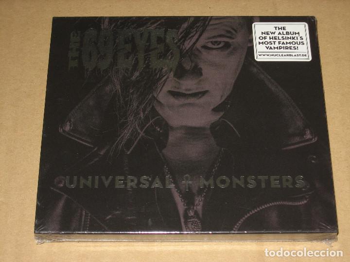(SIN ABRIR) THE 69 EYES - UNIVERSAL MONSTERS _____ (NB 3230-2 LC 07027) (Música - CD's Heavy Metal)