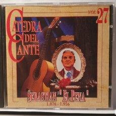 """CDs de Música: CD/ SEBASTIAN """"EL PENA"""" 1876-1956/ CATEDRAL DEL CANTE, VOL.27 / (REF. G.1 ). Lote 212917882"""