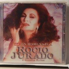 CDs de Música: CD/ EN HOMENSAJE A ROCIO JURADO / (REF. G.1 ). Lote 212918058