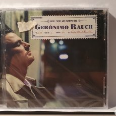CDs de Música: CD + DVD / GERÓNIMO RAUCH/ HERE, THERE AND EVWRYWHERE (REF. G.1 ). Lote 212919718