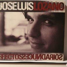 CDs de Música: CD + DVD/ JOSE LUIS LOZANO/ EFECTOS SECUNDARIOS/ (REF. G.2 ). Lote 212939710