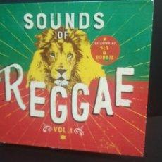 CDs de Música: SOUNDS OF REGGAE SELECTED BY & ROBBIE VOL 1 BOX 5 XCD THE BEST OF REGGAE COMO NUEVO¡¡. Lote 212943202