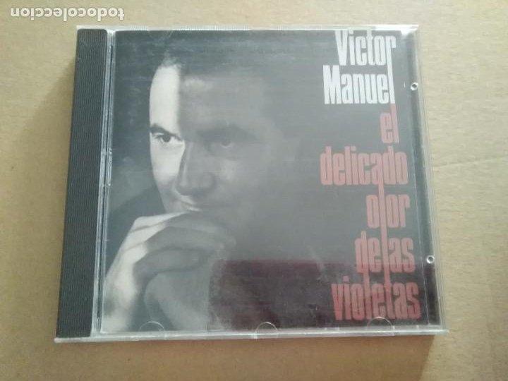 CD - VÍCTOR MANUEL - EL DELICADO OLOR DE LAS VIOLETAS (Música - CD's Melódica )